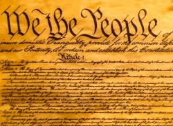 USA Constitution Parchment